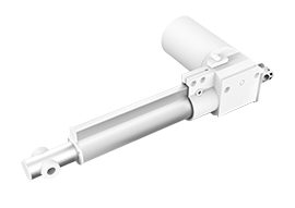 Ispolnitelnyi mehanizm elektroprivoda (aktuatora) dlia mebeli
