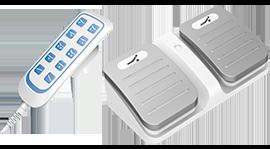 Ножные и ручные пульты для электроприводов (актуаторов) Med-i-Drive